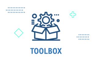 Hier klicken, um auf die Toolbox zu gelangen, die Programme und Anleitungen enthält