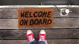 Iris Wunder stellt Onboarding bei HFD-Hangout vor