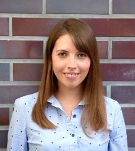 Anna-Carlotta Zarski, Gewinnerin des Lehrrpreis für innovative Lehrkonzepte der Fakultät