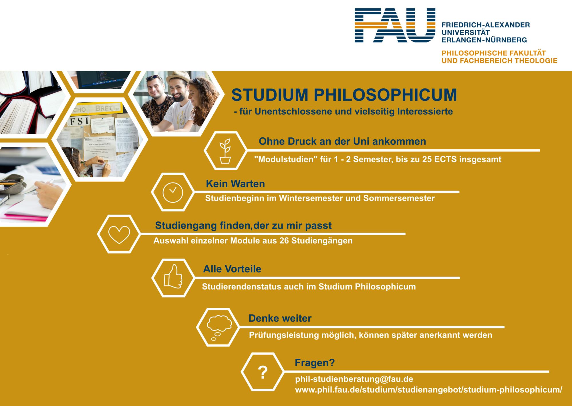Flyer Studium Philosophicum